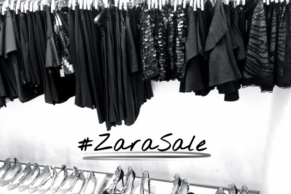 Shopping strategy: How to rock the Zara Sale #zarasale #zale