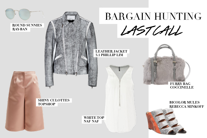 Last call – Bargain hunting
